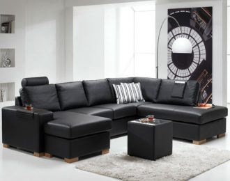 Atlanta 02 sofa – Hud – Valgfri farge
